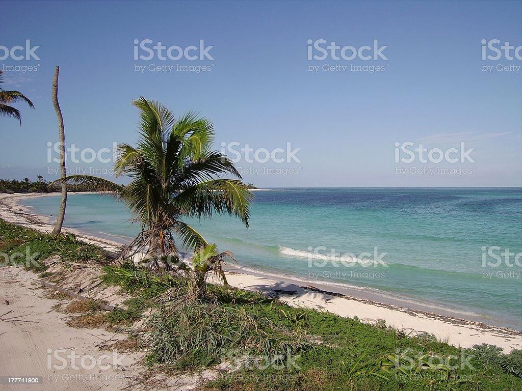 Sian Ka'an biosphere reserve, Mexico stock photo