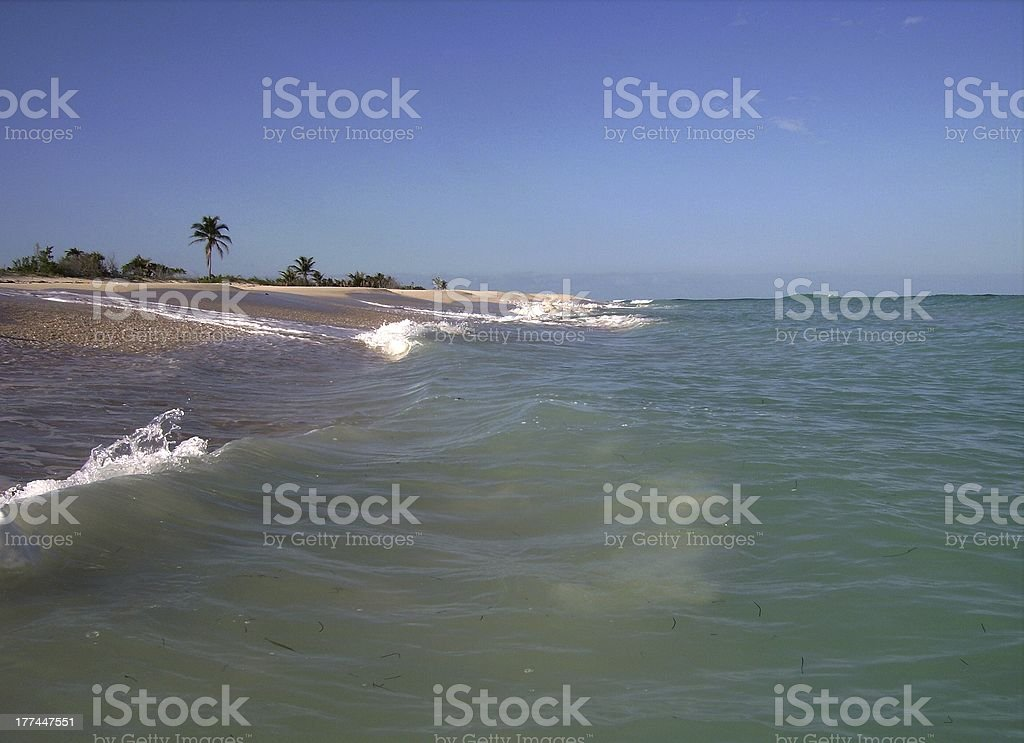 Sian Ka'an Biosphere reserve, Quintana Roo, Mexico stock photo