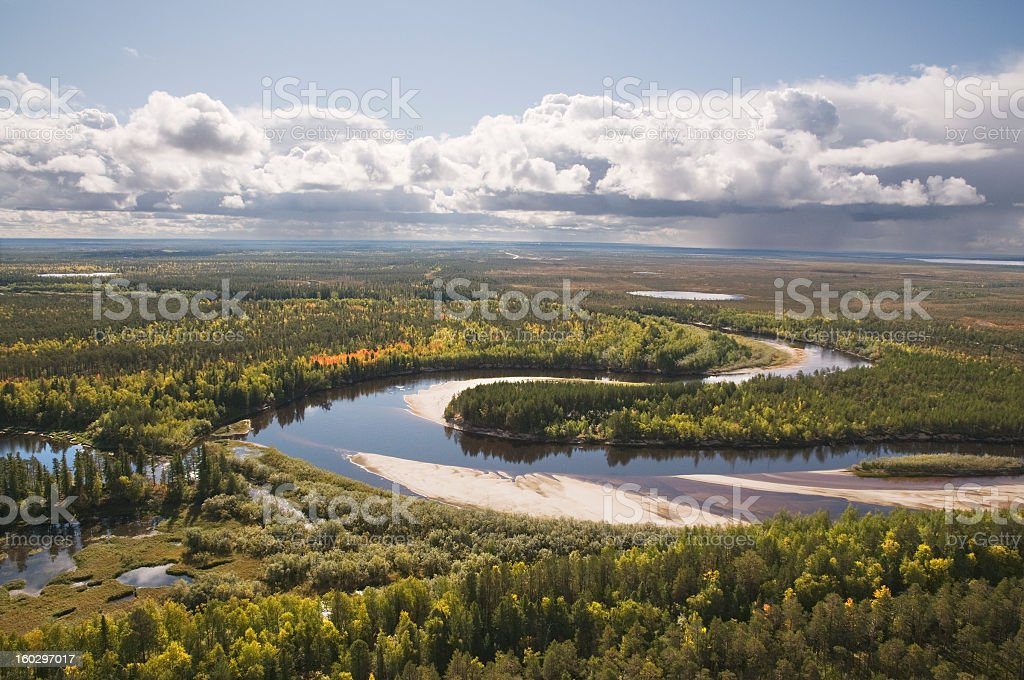 Siberia. royalty-free stock photo