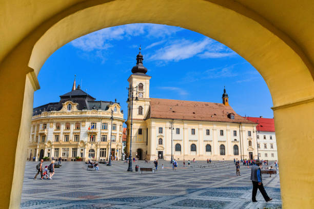 Sibiu, Rumänien. – Foto