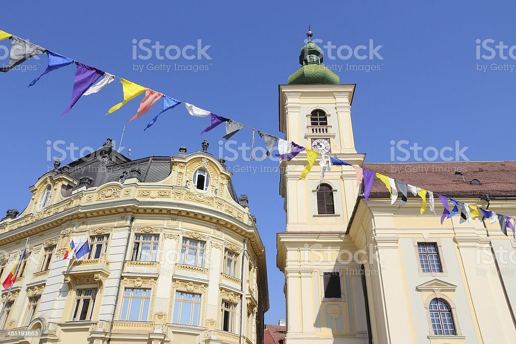 Sibiu, Romania royalty-free stock photo