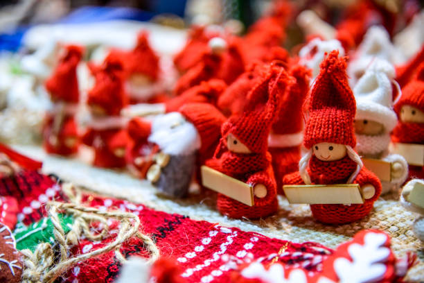 Sibiu, Romania, Transylvania, Christmas Market stock photo