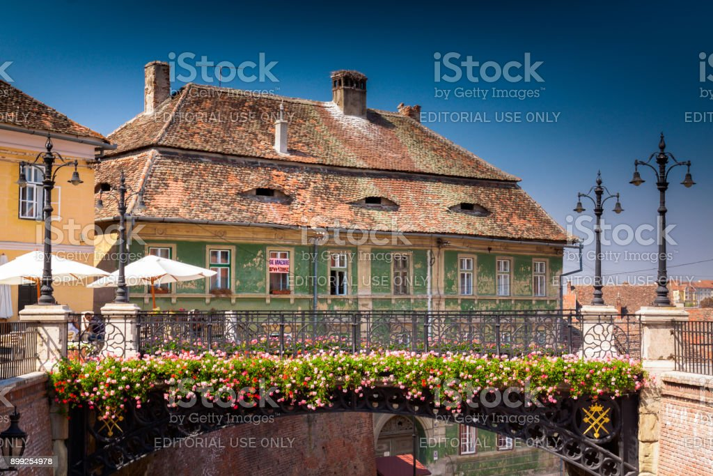 Sibiu, Transylvania, Romania stock photo