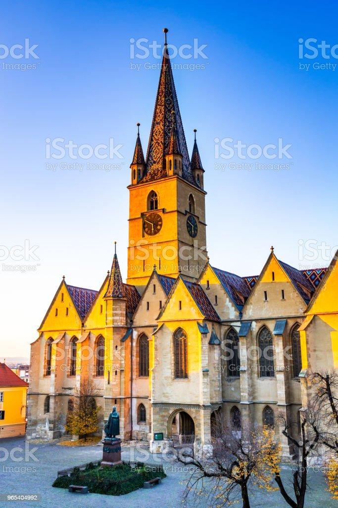 Sibiu, Transylvania, Romania zbiór zdjęć royalty-free