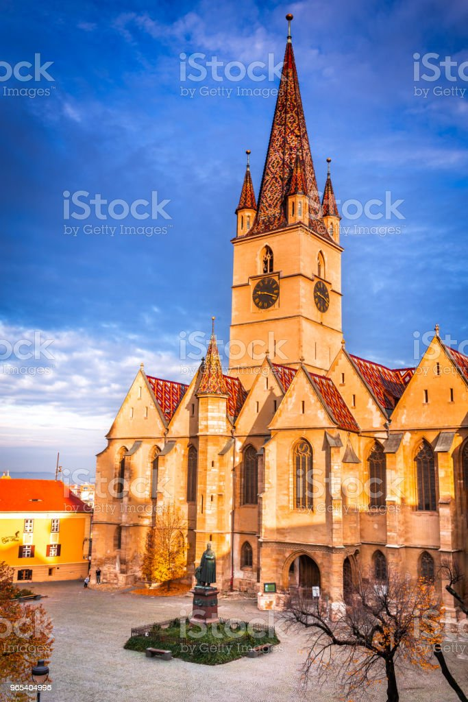Sibiu, Transylvania, Romania royalty-free stock photo