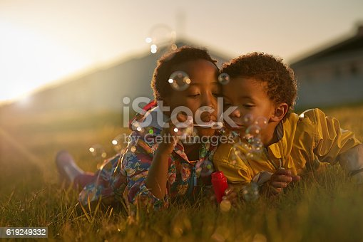 istock Siblings and the best of friends 619249332