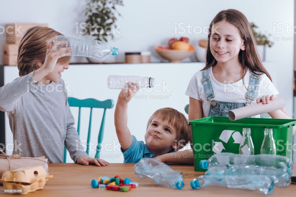 Siblings having fun royalty-free stock photo