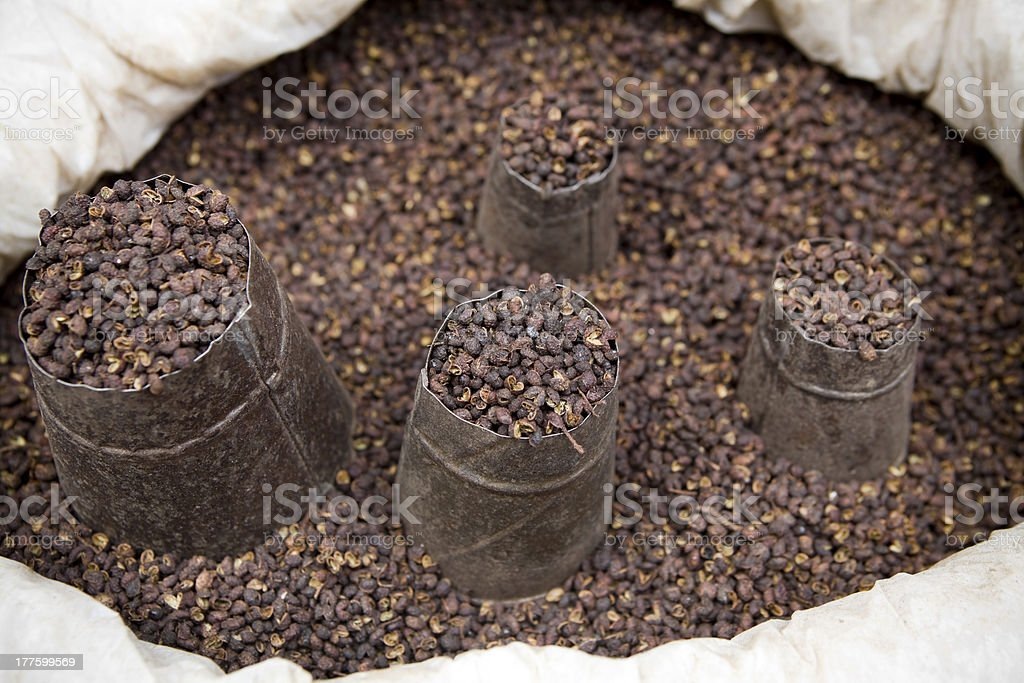 Sichuan Pepper royalty-free stock photo