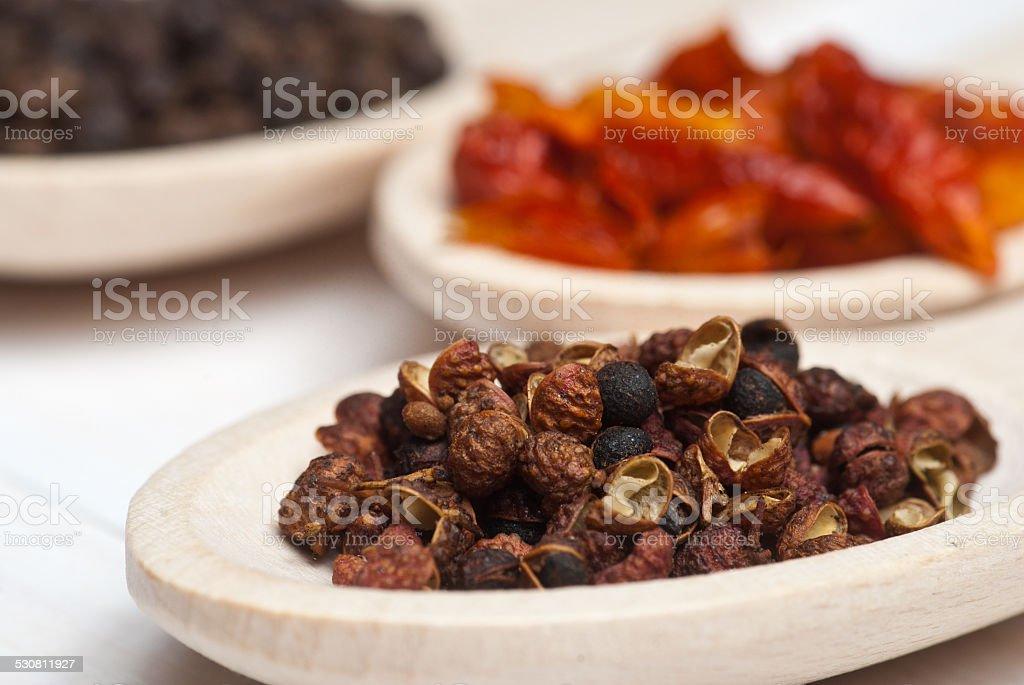 Sichuan pepper stock photo