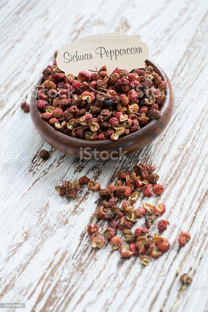 Sichuan Peppercorn stock photo
