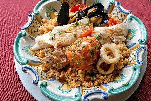 Sicilan Fisch couscous – Foto