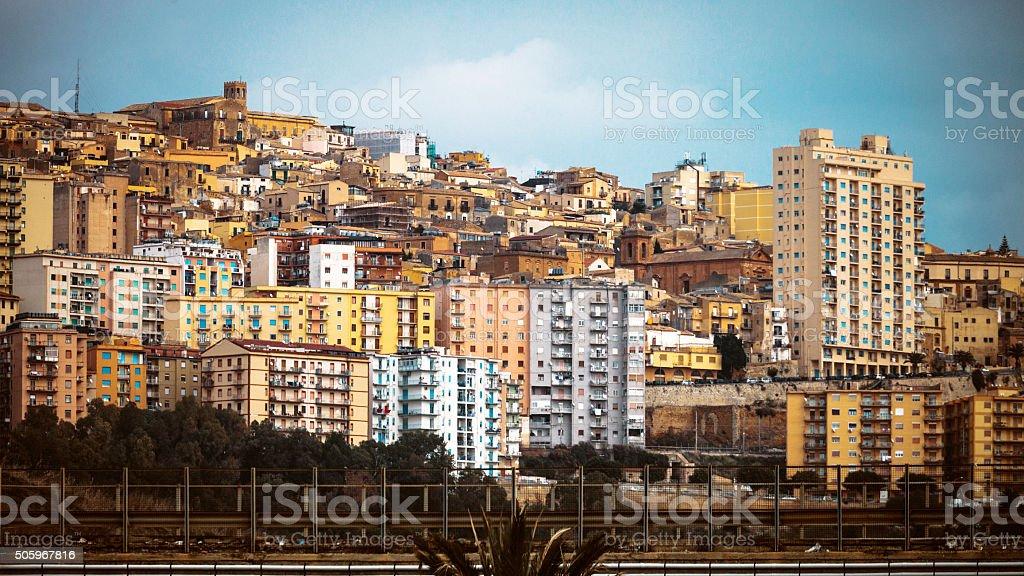 Città della Sicilia, Agrigento. - foto stock