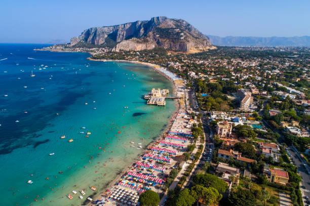Sicily Island in Palermo, Italy, Europe stock photo