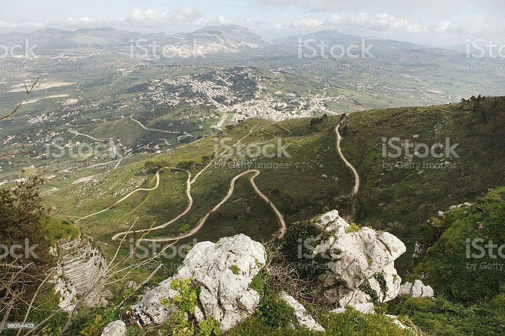 Sicily landscape royalty-free stock photo