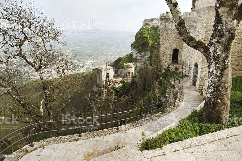 Paesaggio della Sicilia foto stock royalty-free