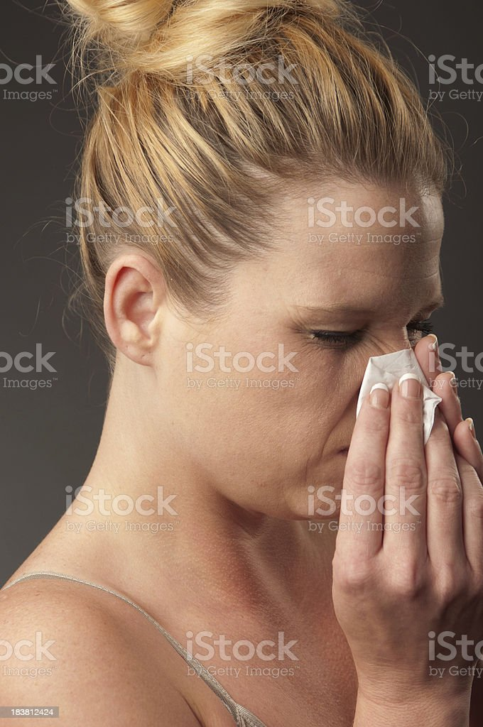 Sick And Tired stock photo