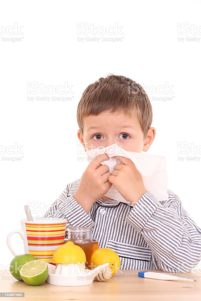 sick child royalty-free stock photo