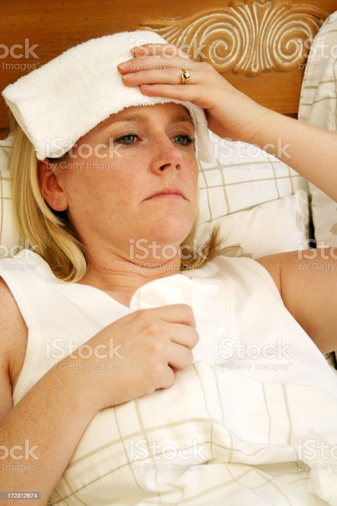 Sick Day royalty-free stock photo