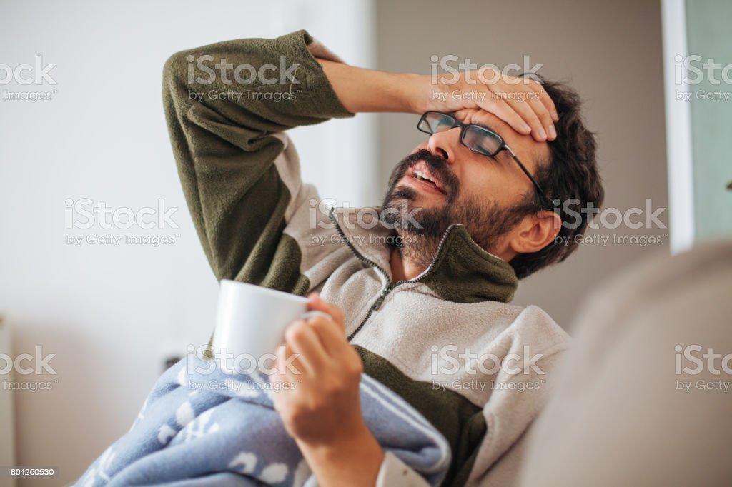 Sick Day royalty-free stock photo