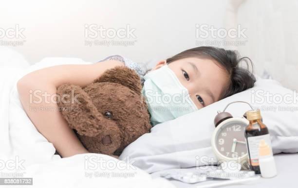 Sick girl with hygienic mask laying on bed picture id838081732?b=1&k=6&m=838081732&s=612x612&h=jk9njxypdj5xkkns7sthuuvjeirn ioc9h 2ji6ohck=