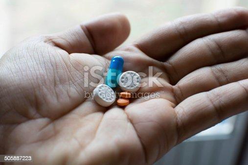istock Sick pills 505887223