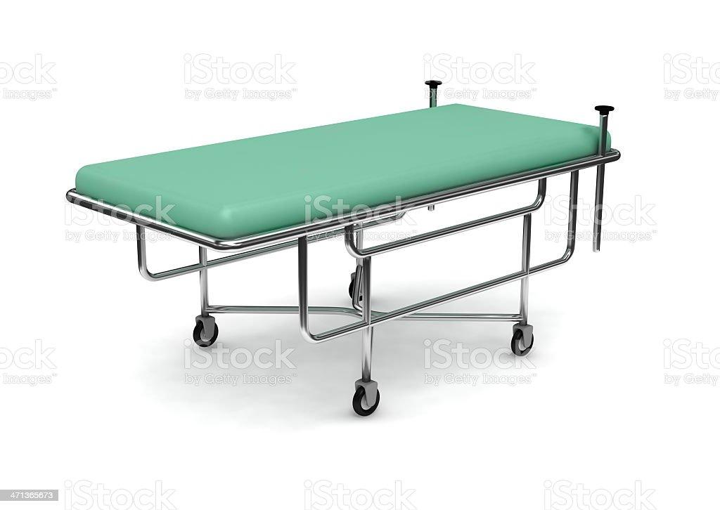 sickbed stock photo