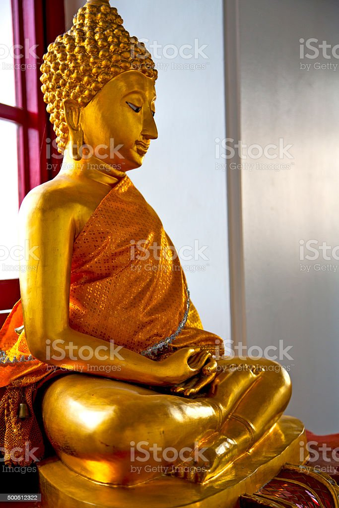 siddharta   in the   abstract cross        step     wat  palaces stock photo