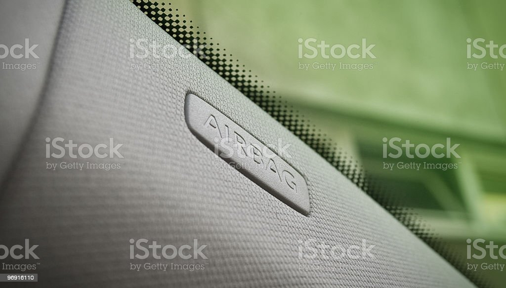 side airbag royalty-free stock photo