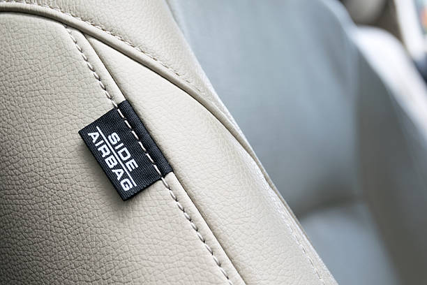 Side Car Airbags Tag. increased safety in a car – Foto