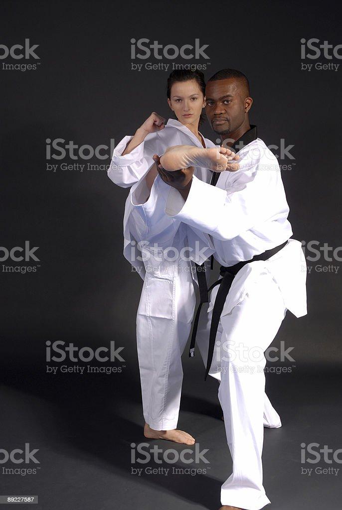 side kick alignment royalty-free stock photo