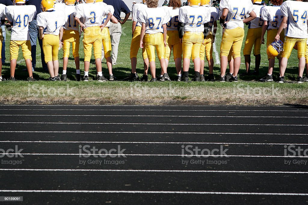 Side Line stock photo
