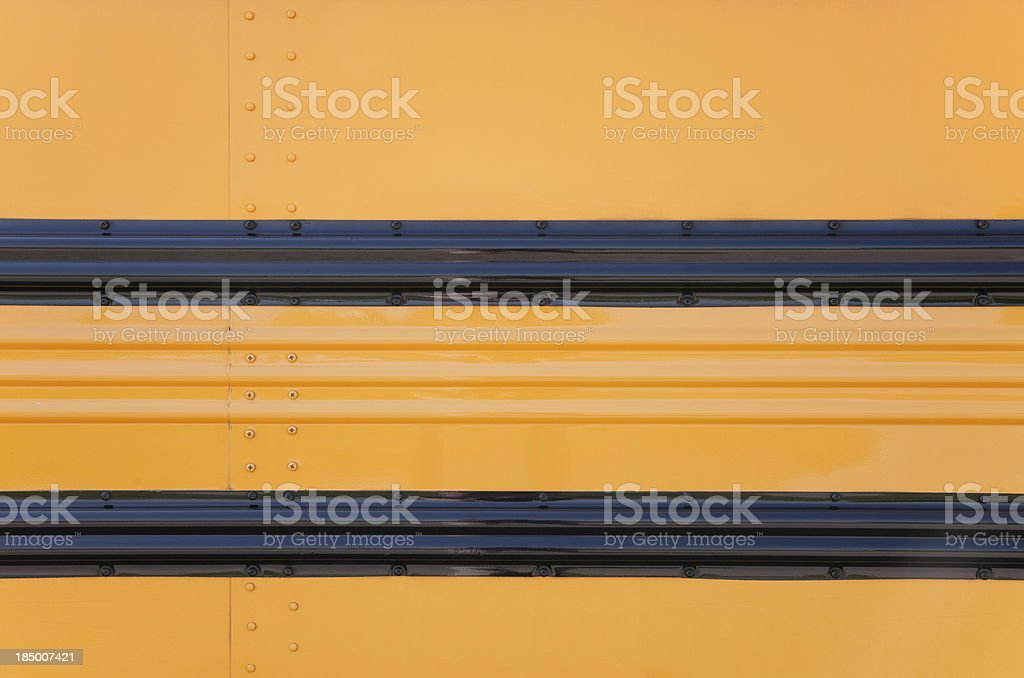 Side of Bus stock photo