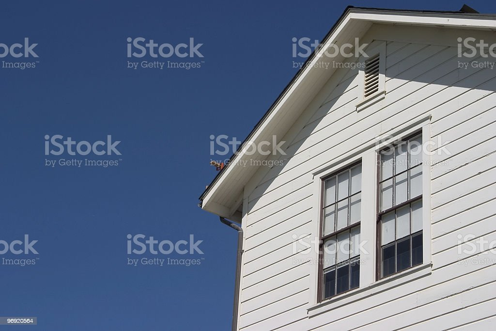Side of Generic House royalty-free stock photo
