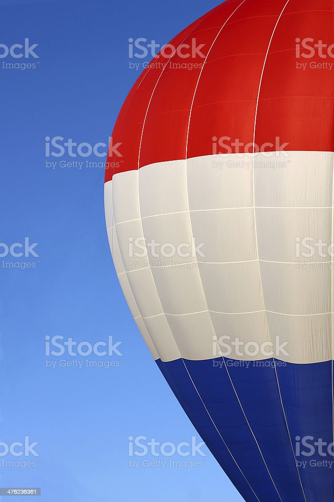Side of Hot Air Balloon royalty-free stock photo