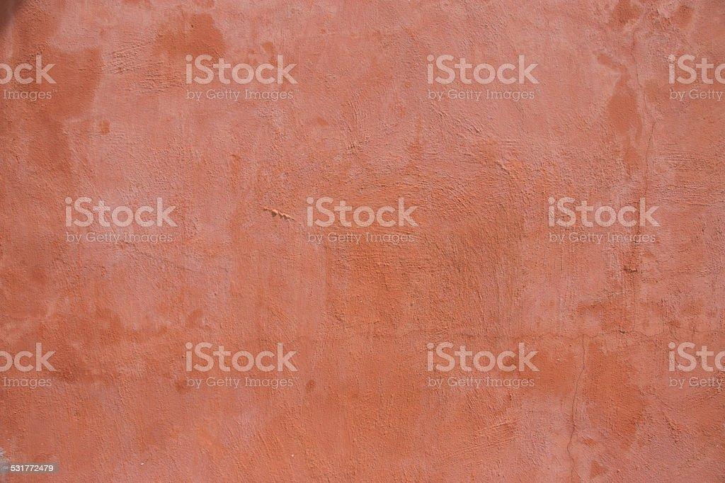 Side of orange wall stock photo
