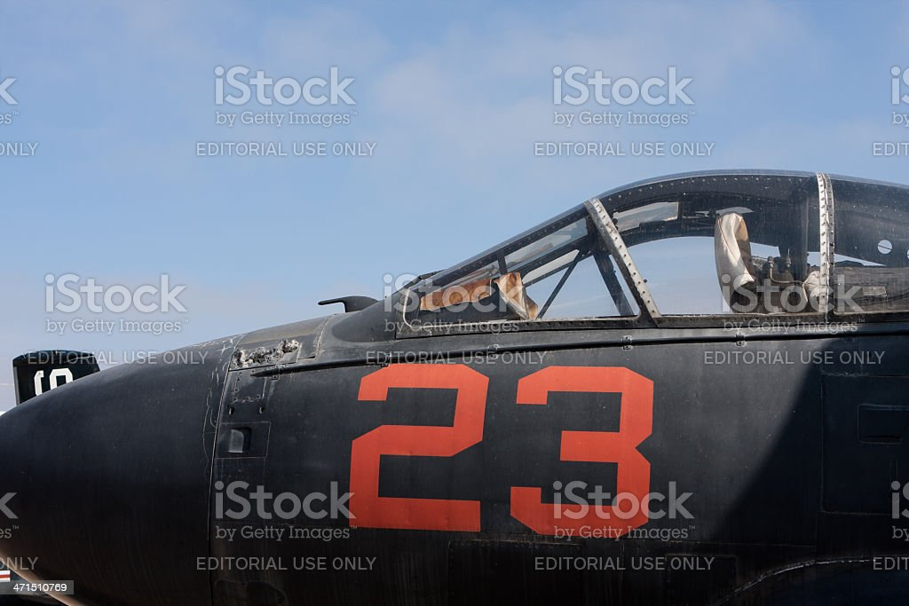 Side of The Cockpit stock photo