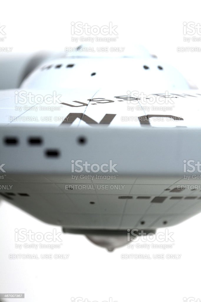 Side of the Enterprise royalty-free stock photo