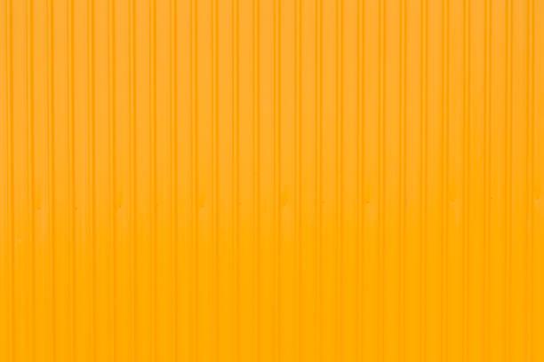 黃色容器面板側面, 黃色金屬背景 - 容器 個照片及圖片檔