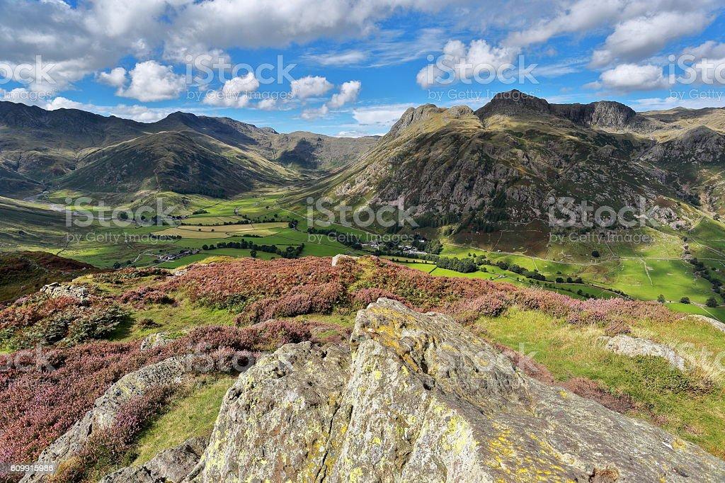 Side Pike Summit - Lake District stock photo