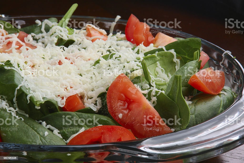 Side Salad royalty-free stock photo