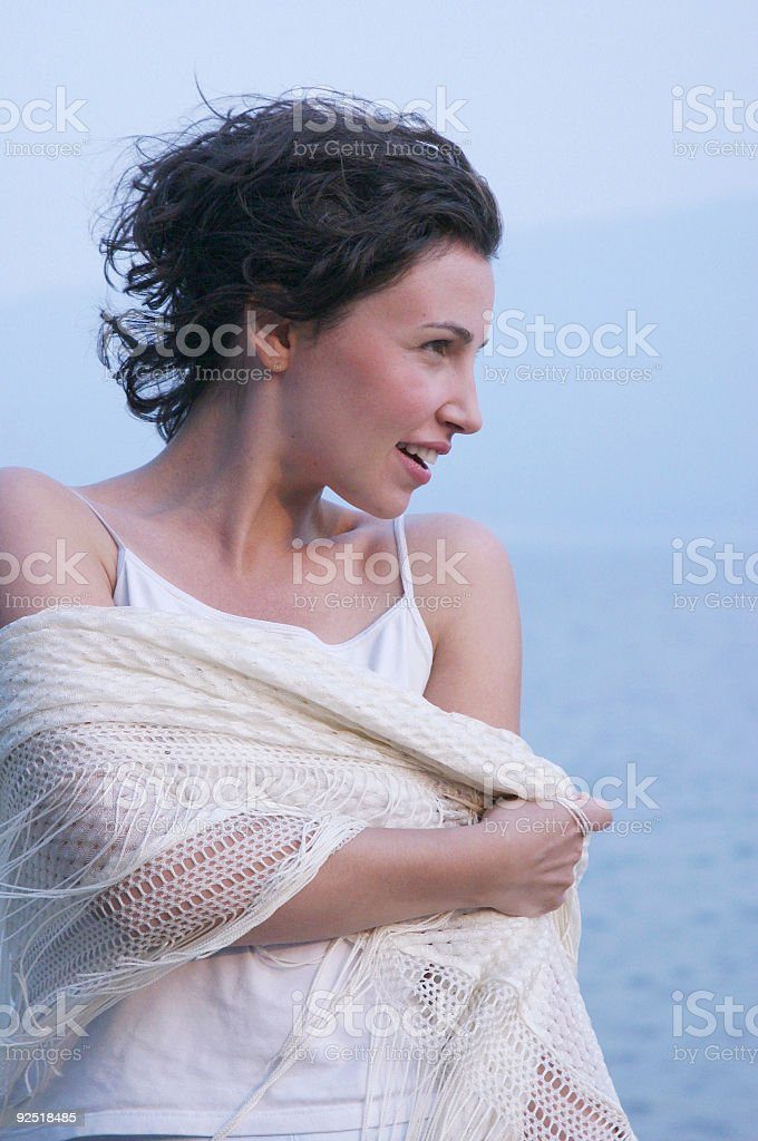 Side Smile royalty-free stock photo