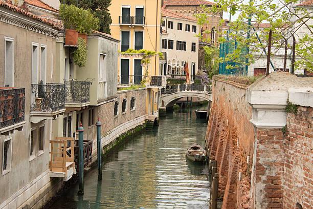 """Side street"" in Venice stock photo"