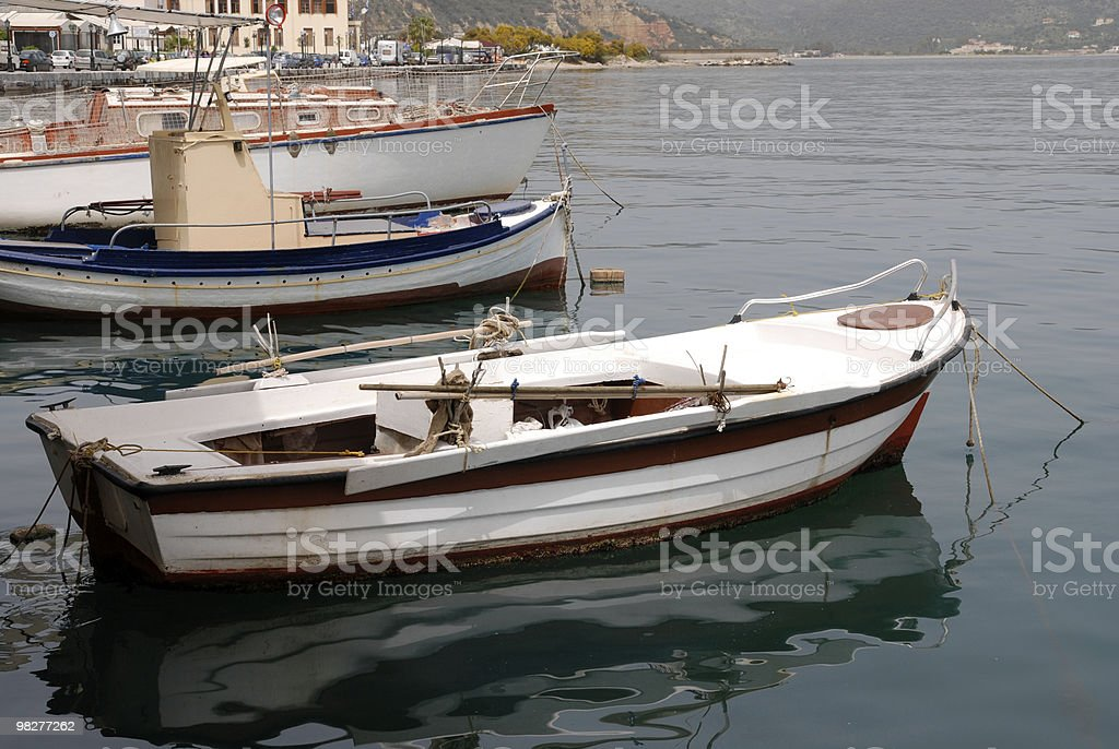 side view from fisherboats royalty-free stock photo
