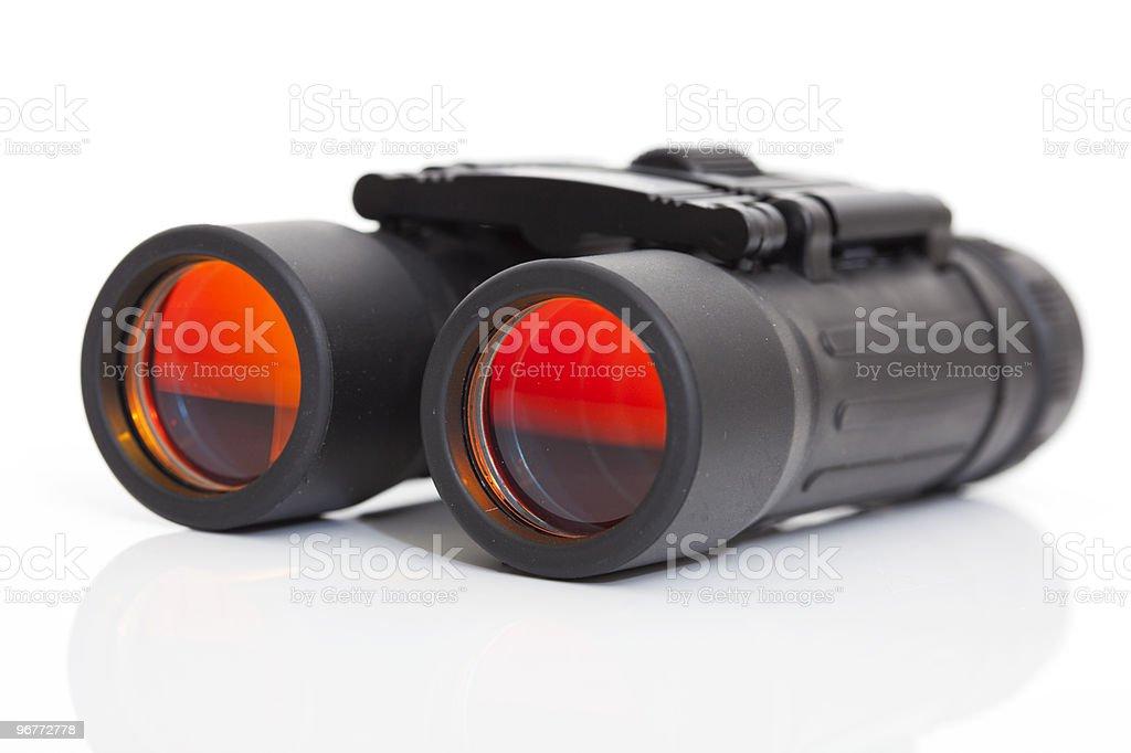 side view of a binoculars stock photo