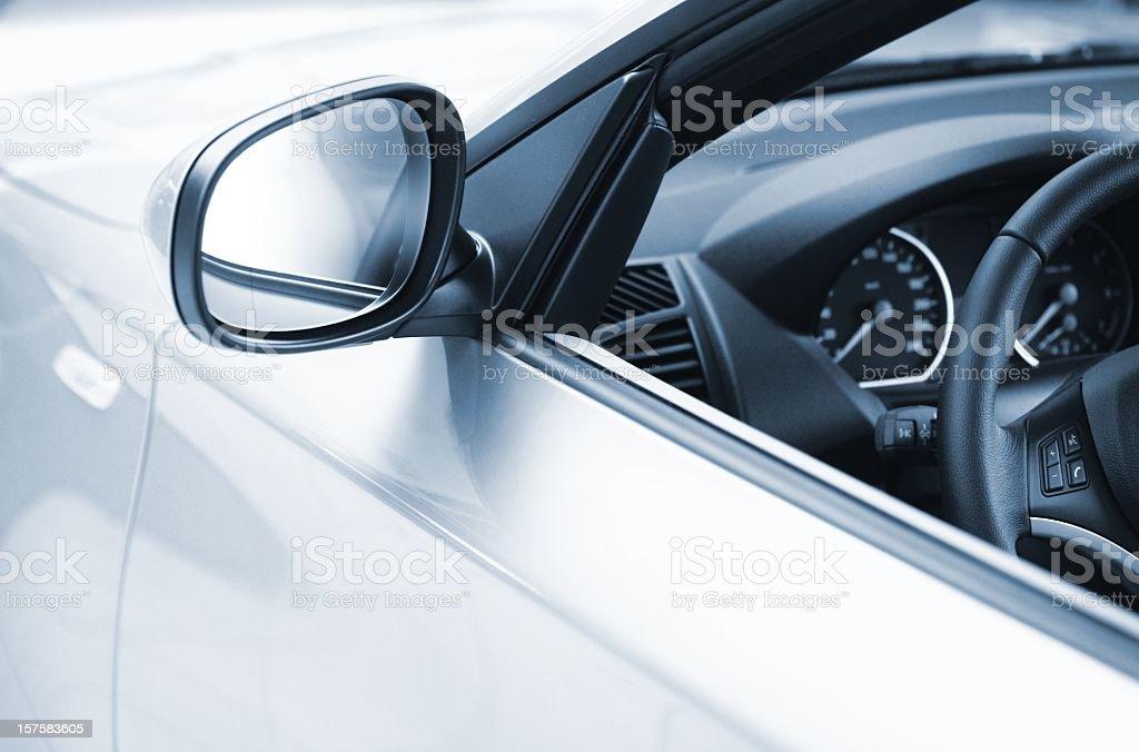 Seitenansicht eines luxus-Auto – Foto