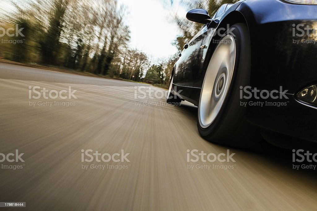Side view of car. stock photo