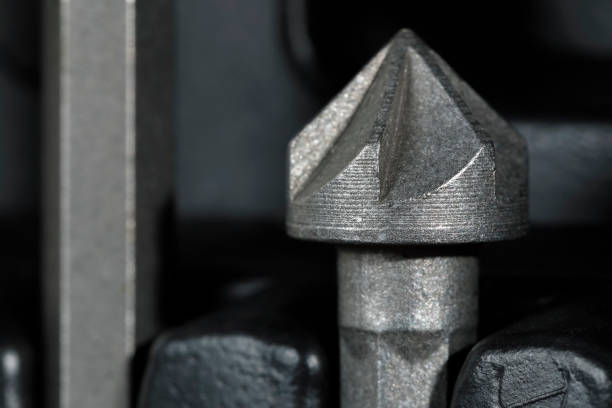Side view of countersink drill bit