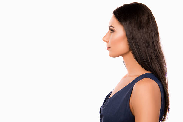 Royalty Free Face Girls Side View Silhouette Pictures ...