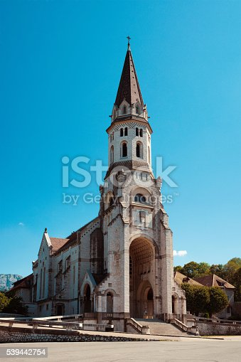 istock side view of the basilica of the Visitation at Annecy 539442754