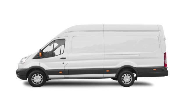 Side view of white van for branding with clipping path picture id1155665457?b=1&k=6&m=1155665457&s=612x612&w=0&h=ltgigxun t9981vujnqbqcpikwevqaomkwocr hdvbo=